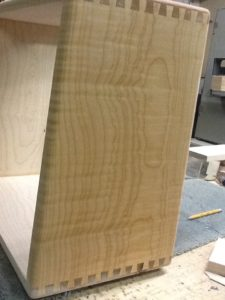Wood Grain Guitar Speaker Cabinets With Dovetail Joinery And Custom Finishes Mine Audio