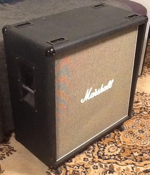 Marshall 1960B 4 x 12″ Speaker cabinet – salt and pepper grille ...